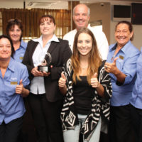 Staff accept OOPS Award